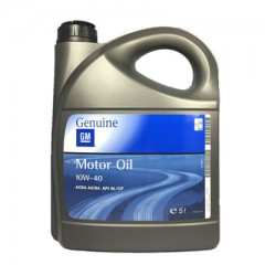 OPEL GM MOTOR OIL 10W-40 5L