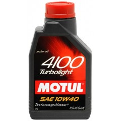 MOTUL 4100 TURBOLIGHT SAE 10W-40 1L