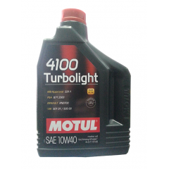 MOTUL4100 turbolight SAE 10W-40 2L