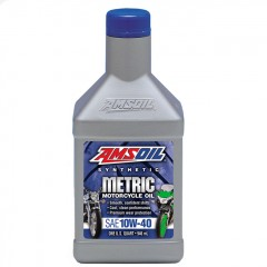AMSOIL SYNTHETIC MOTORCYCLE OIL SAE 10W-40 1L